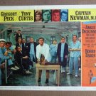 FT10  CAPTAIN NEWMAN TONY CURTIS/GREGORY PECK Lobby card