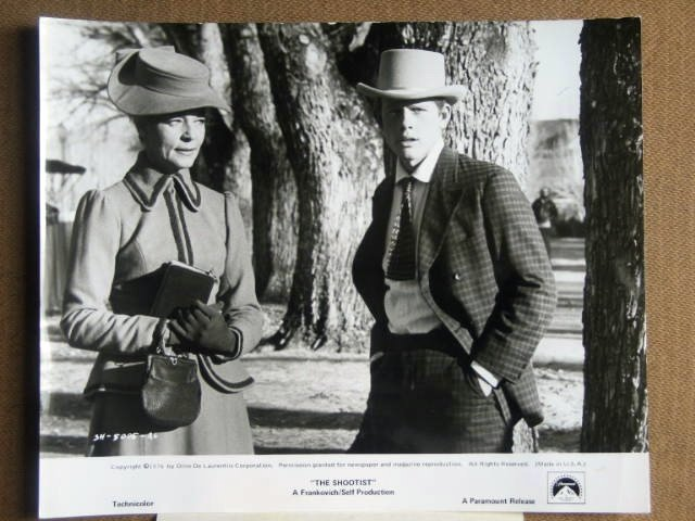 GB13 Shootist LAUREN BACALL/RON HOWARD Studio Still
