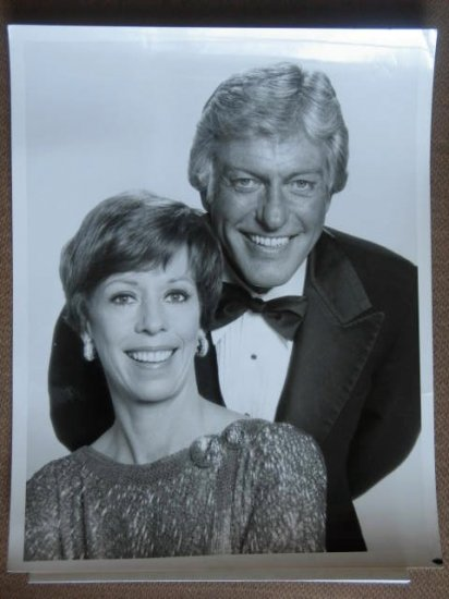 GF30 CAROL BURNETT SHOW Dick Van Dyke TV Press Still