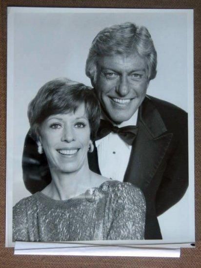 GG38 CAROL BURNETT SHOW Dick Van Dyke/Burnett TV Still