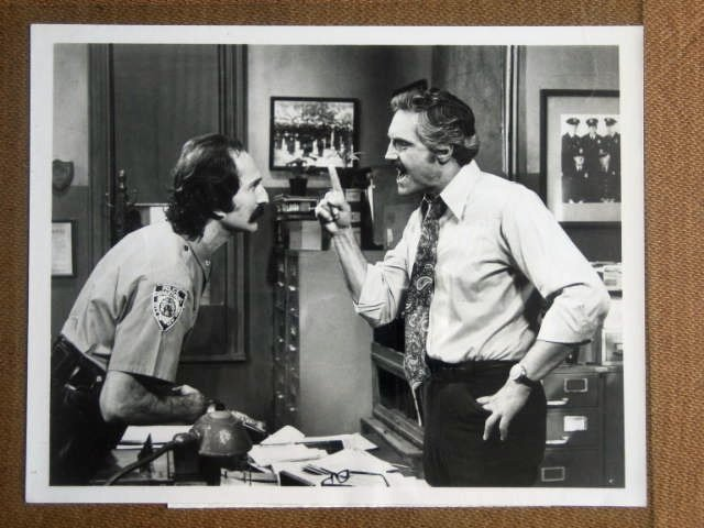 GA15 Barney Miller HAL LINDEN/D NATALI TV Press Still