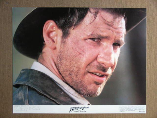 FR24 Indiana Jones Temple Doom HARRISON FORD Lobby Card