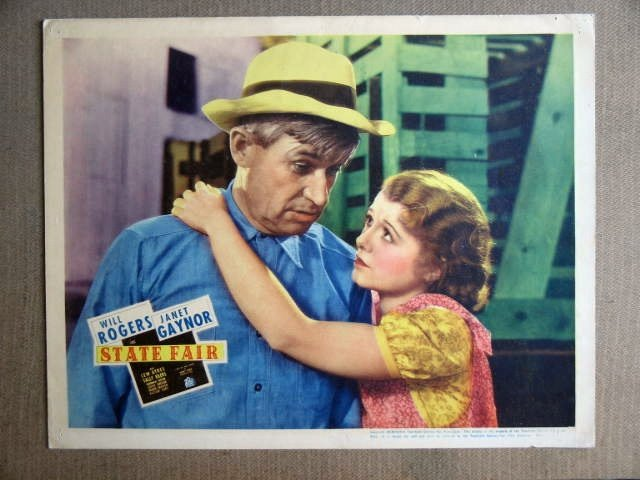 FP39 STATE FAIR Will Rogers/Janet Gaynor Original Lobby Card