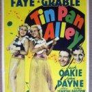 GS02 Tin Pan Alley BETTY GRABLE/A FAYE Mini Window Card