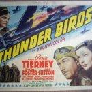 GR33 Thunder Birds GENE TIERNEY Title Lobby Card