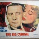 GS08 Big Carnival KIRK DOUGLAS 1951 Portrait Lobby Card