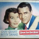 GR29 Room For One More CARY GRANT Portrait Lobby Card