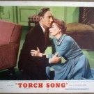 GQ23 Torch Song JOAN CRAWFORD/M WILDING Lobby Card