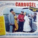 GT09 Carousel SHIRLEY JONES/GORDON MacRAE Lobby Card