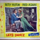 GT25 Let's Dance BETTY HUTTON/ASTAIRE Lobby Card