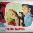 GU05 Big Carnival KIRK DOUGLAS Portrait Lobby Card