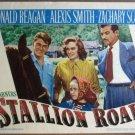 GU29 Stallion Road RONALD REAGAN/A  SMITH Lobby Card