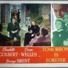 GU33 Tomorrow Is Forever CLAUDETTE COLBERT Lobby Card