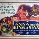 GV02 Anna & The King Siam IRENE DUNNE Title Lobby Card