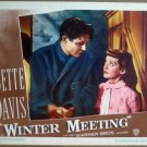 GV38 Winter Meeting BETTE DAVIS/JIM DAVIS Lobby Card