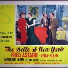 GX03 Belle Of NY FRED ASTAIRE/VERA-ELLEN Lobby Card