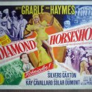 GZ04 Diamond Horseshoe BETTY GRABLE Title Lobby Card