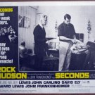 HC17 Seconds ROCK HUDSON 1966 Lobby Card