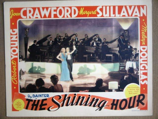 HF29 Shining Hour JOAN CRAWFORD 1938 Lobby Card