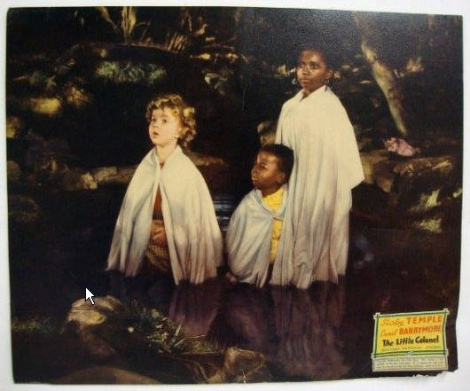 HJ26 Little Colonel SHIRLEY TEMPLE Jumbo Lobby Card
