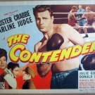 HE06 Contender BUSTER CRABBE 1944 Title Lobby Card