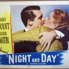 HE15 Night & Day CARY GRANT/A SMITH Portrait Lobby Card