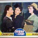 HE26 Susan & God JOAN CRAWFORD 1940 Lobby Card