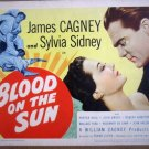 HF03 Blood In The Sun JAMES CAGNEY Title Lobby Card