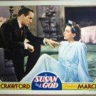 HF33 Susan & God JOAN CRAWFORD/FREDRIC MARCH Lobby Card
