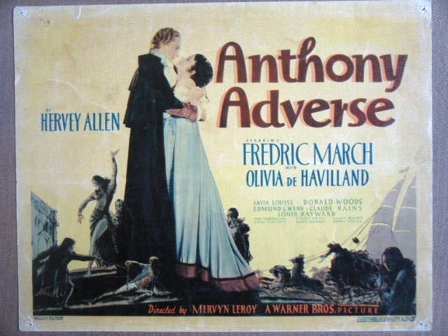 HG05 Anthony Advers OLIVIA DeHAVILLAND Title Lobby Card