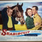 HH29 Seabiscuit SHIRLEY TEMPLE/B FITZGERALD Lobby Card