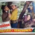 HH35 Valley Of Vengeance BUSTER CRABBE Lobby Card