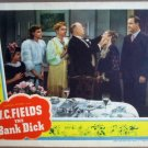 HJ02 Bank Dick W.C. FIELDS Original 1940 Lobby Card