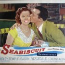 HJ21 Seabiscuit SHIRLEY TEMPLE Portrait Lobby Card