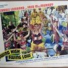 HK23 Swing High Swing Low DOROTHY LAMOUR Lobby Card