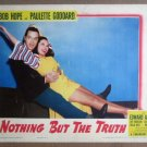 HL17 Nothing But The Truth BOB HOPE/GODDARD Lobby Card