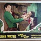 HM24 Randy Rides Alone JOHN WAYNE Lobby Card
