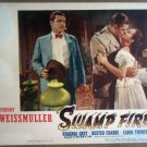 HM27 Swamp Fire JOHNNY WEISSMULLER/B CRABBE Lobby Card