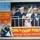 HH14 Girl In Every Port GROUCHO MARX/BENDIX Lobby Card