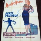 HI02 Bus Stop MARILYN MONROE French Grande Poster