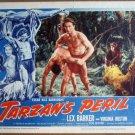 HI17 Tarzan's Peril LEX BARKER 1951 Lobby Card
