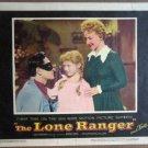 HM21 Lone Ranger CLAYTON MOORE Original 1956 Lobby Card