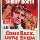 HM36 Come Back Little Sheba SHIRLEY BOOTH 1 SHT Poster