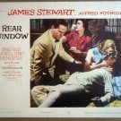 HN09 Rear Window GRACE KELLY/JAMES STEWART Lobby Card