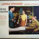 HN10 Rear Window GRACE KELLY/JAMES STEWART Lobby Card