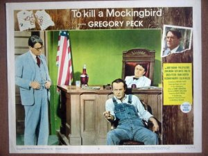 HF36 To Kill A Mockingbird GREGORY PECK Lobby Card
