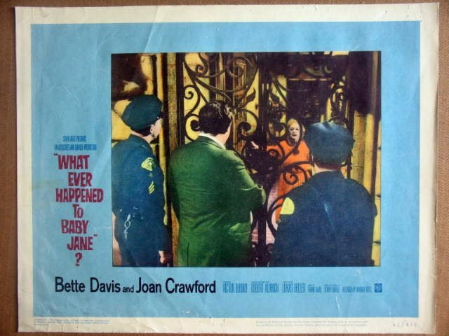 HK25 Whatever Happened Baby Jane BETTE DAVIS Lobby Card