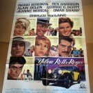 HL06 Yellow Rolls Royce INGRID BERGMAN One Sheet Poster