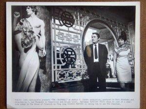 HN21 Chairman GREGORY PECK Original 1969 Studio Still