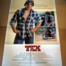 HL04 Tex MATT DILLON Original 1982 One Sheet Poster